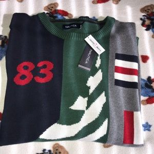 NÁUTICA Thick Men's Sweater NWT